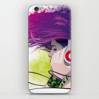 snatch iPhone & iPod Skins featuring Listen. by Lorenzo Imperato