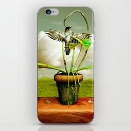 The Vampire Flower iPhone Skin