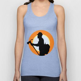 Creative Acre Foundation (CAF) Support poster Unisex Tank Top