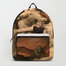 Dante and Virgil in Hell Backpack