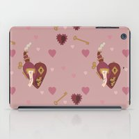 valentines iPad Cases featuring Steampunk Valentines by S. Vaeth