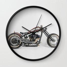Phenix Custom Harley par Choppersteel Wall Clock