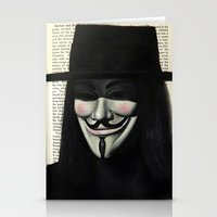 vendetta Stationery Cards featuring Vendetta by Coreypopp