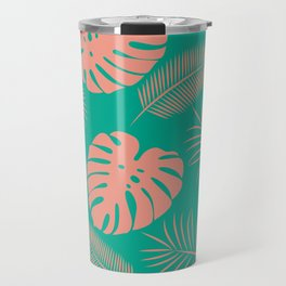TROPICAL LEAVES 8 Travel Mug