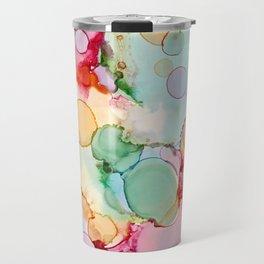 Rainbow Bubbles Travel Mug