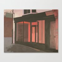 subway Canvas Prints featuring Subway by Janet Wareing
