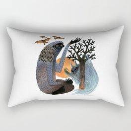 Big Foot's Demons Rectangular Pillow