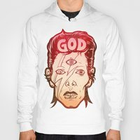 god Hoodies featuring God by Beery Method