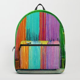 Painted Wall Biscuit Paint Wall Houston Backpack