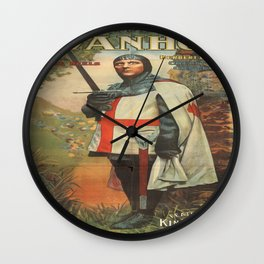 Vintage poster - Ivanhoe Wall Clock
