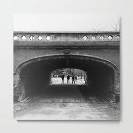 Central Park Underpass Metal Print