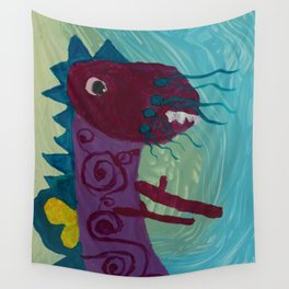 Dragon : Funny creature Series Wall Tapestry