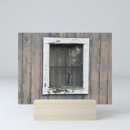 Vintage Window Mini Art Print