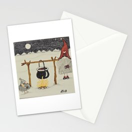 """Tomten Elmer"" & Håkan the troll. Stationery Cards"