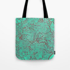 Aumcolored Tote Bag