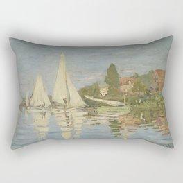 Regattas at Argenteuil Rectangular Pillow