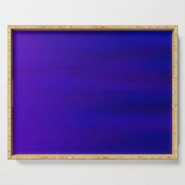 Ultra Violet to Indigo Blue Ombre Serving Tray
