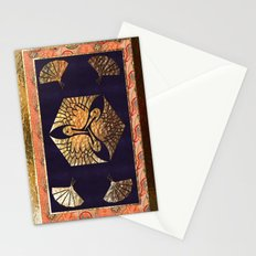 Japanese Swan Traditional Motif Stationery Cards