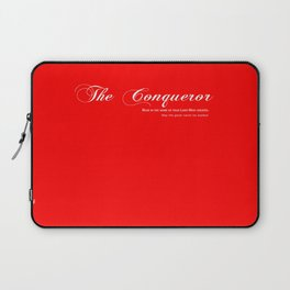 The Conqueror Laptop Sleeve
