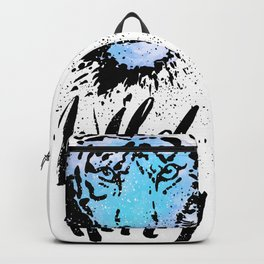 Tiger. Wild thing. Backpack