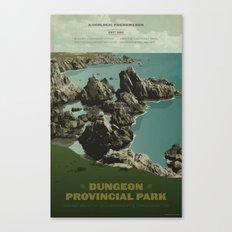 Dungeon Provincial Park Canvas Print