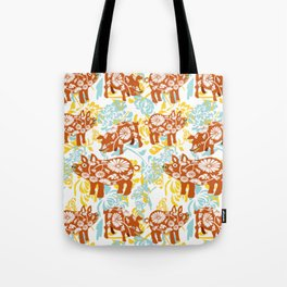 The Year of The Pig with Chysanthemums Tote Bag