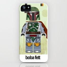 Star.Wars Boba Fett styled Mini Figure iPhone Case
