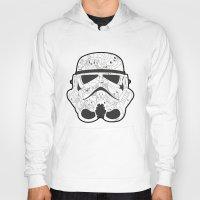 stormtrooper Hoodies featuring Stormtrooper by Santos