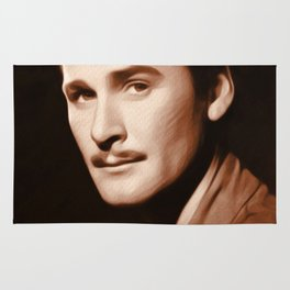 Errol Flynn, Actor Rug
