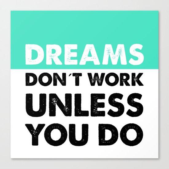 Dreams Canvas Print