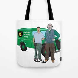 Russell & Hugh Jewellery Retrieval Service - DMDC - Detectorists Tote Bag