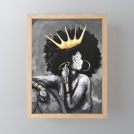 Naturally Queen VI Framed Mini Art Print