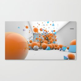 Randomise Canvas Print