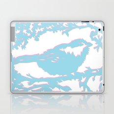 Snowy Chickadee Laptop & iPad Skin