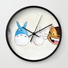 Make the Unlikeliest of Friends, Wherever You Go Wall Clock