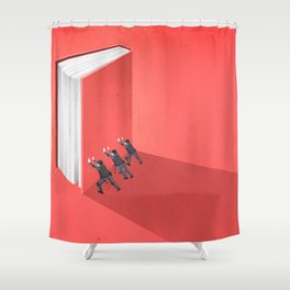 BANNED BOOKS Shower Curtain