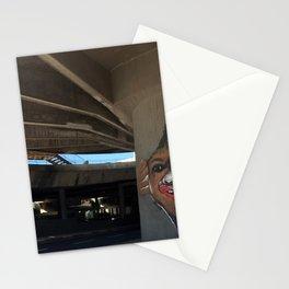 Tel Aviv Photography - Kikar Atarim Graffiti Stationery Cards