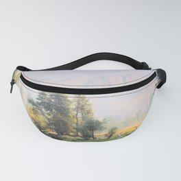 Sit and reflect Fanny Pack