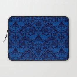 Stegosaurus Lace - Blue Laptop Sleeve
