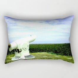 Waiting  - Original Photographic Art Print Rectangular Pillow