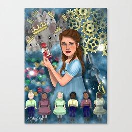 The Nutcracker Illustration Canvas Print