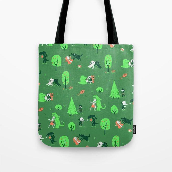 Field of Love Tote Bag