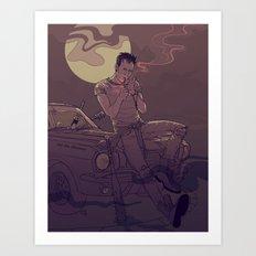 Ripper Art Print