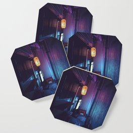 Tokyo Nights / Lonely Lantern / Liam Wong Coaster