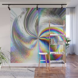 Mystical Hologram Design Wall Mural