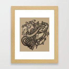 Norse animals Framed Art Print