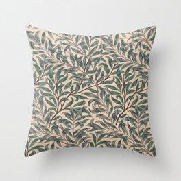 Modern poster-William Morris-Vegetable print 5. Throw Pillow