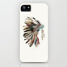 native headdress iPhone (5, 5s) Slim Case