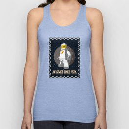 In space since 1978 White Unisex Tank Top