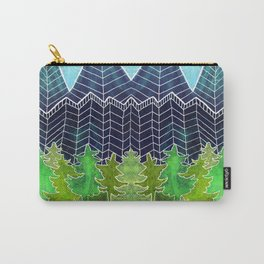 Magical Mountain Forest Carry-All Pouch